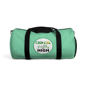 CBD Healthy Not High / CBD Distributor Duffel Bag