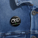 CBD Changing Lives 1 Drop at a Time,  Pin Button