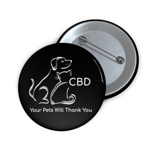 CBD, Your Pets Will Thank You,  Pin Button