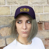 Official CBD Distributor (Red & Yellow)  - Unisex Twill Hat