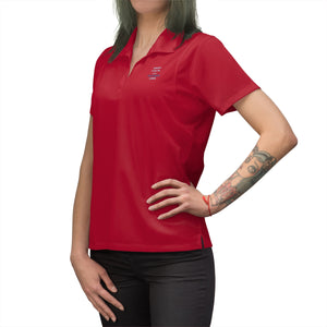 Keep Calm and Google CBD - Embroidered Women's Polo Shirt