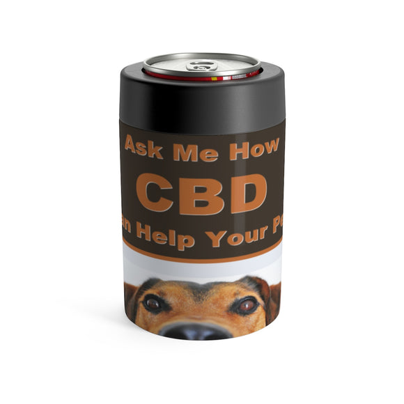 Ask Me How CBD Can Help Your Pets - Koozie Can Holder