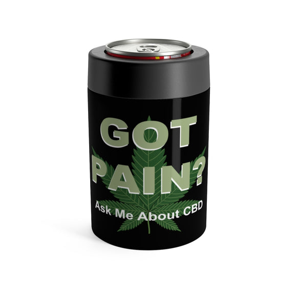 Got Pain? Ask Me About CBD - Koozie Can Holder