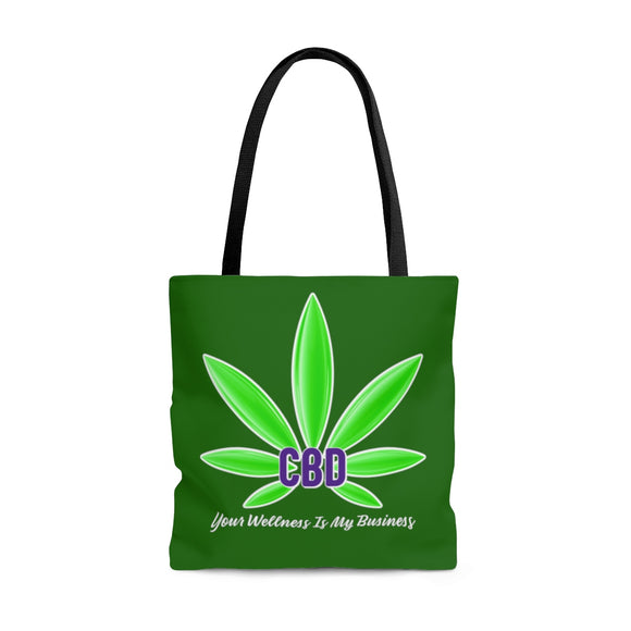 CBD Your Wellness Is My Business -  2 Sided Tote Bag