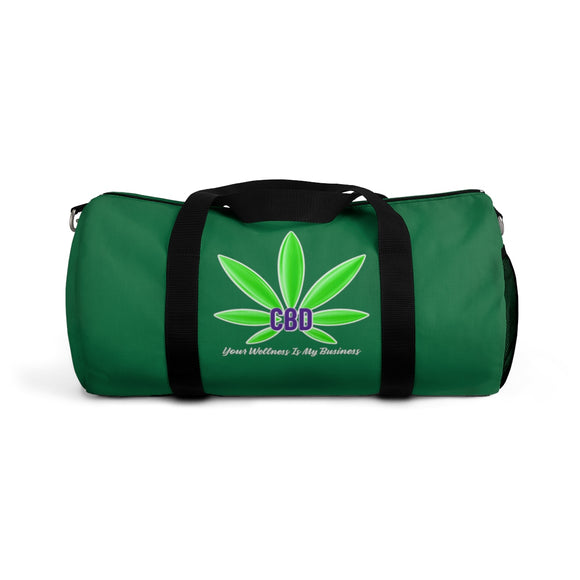 CBD, Your Wellness Is My Business  /  CBD Distributor Duffel Bag