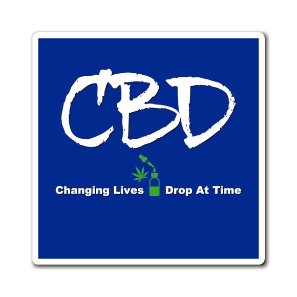 CBD, Changing Lives One Drop at a Time Magnet