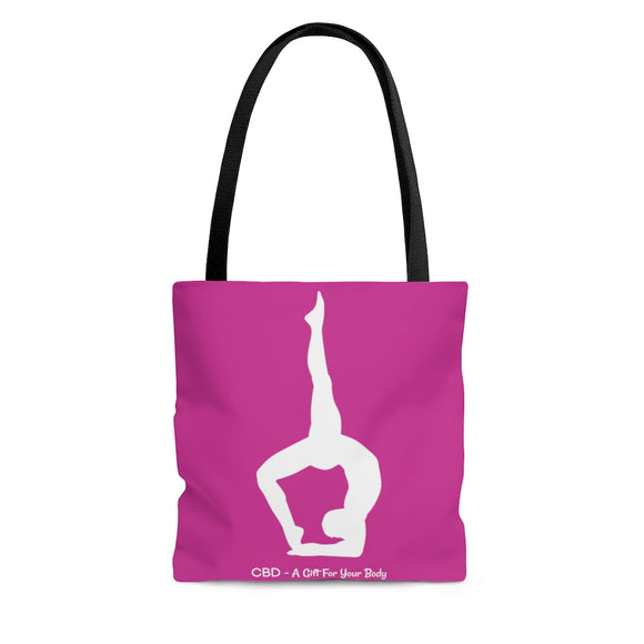 CBD A Gift For Your Body -  2 Sided Tote Bag