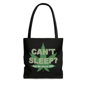 Can't Sleep /Got Pain 2 Sided Tote Bag  3 Sizes
