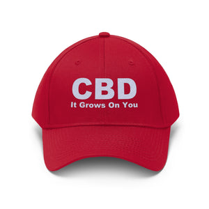 CBD It Grows On You - Unisex Twill Hat