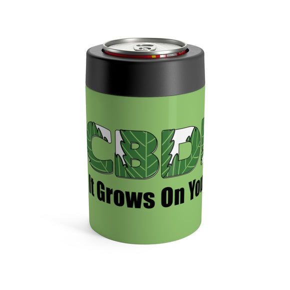 CBD It Grows On You - Koozie Can Holder
