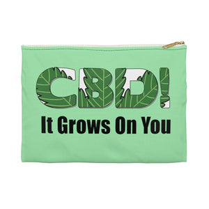CBD It Grows On You Accessory Pouch