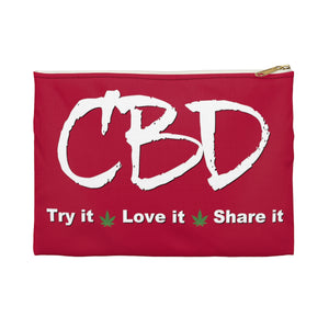 CBD Try It, Love It, Share It Accessory Pouch