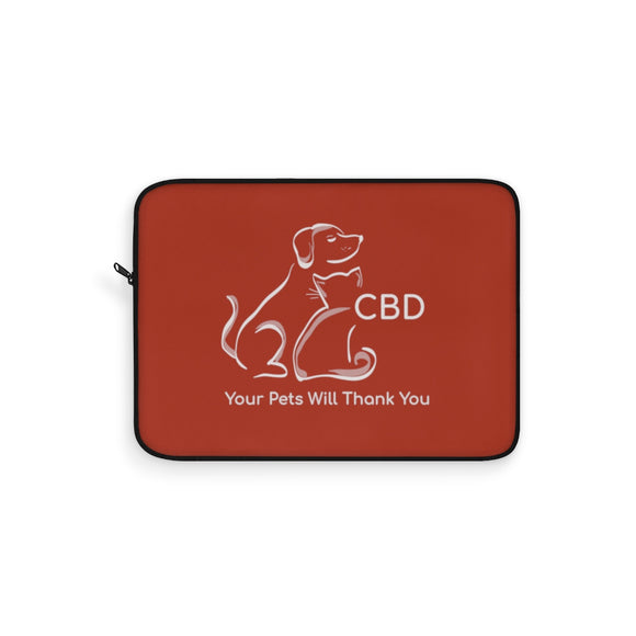 CBD, Your Pets Will Thank You - Laptop Sleeve