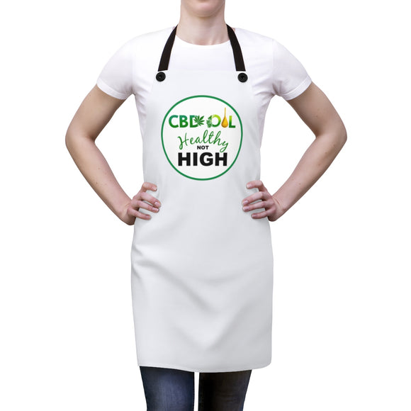 CBD Healthy Not High Apron