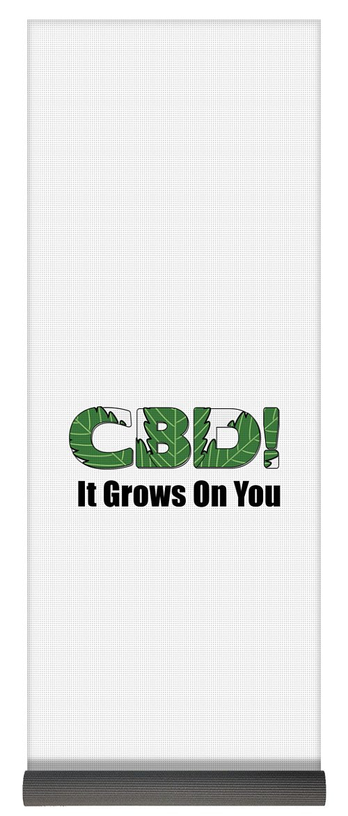CBD, It Grows On You - Yoga Mat