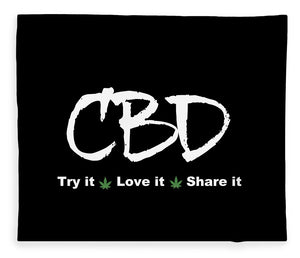 CBD Try It, Love It, Share It, II - Blanket