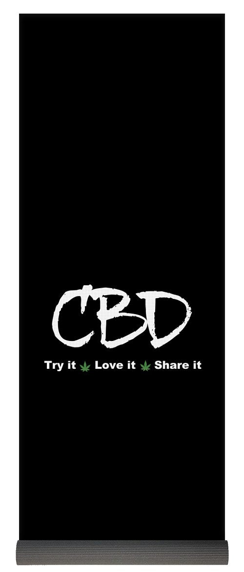 CBD Try It, Love It, Share It, II - Yoga Mat