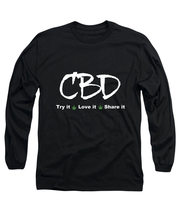 CBD Try It, Love It, Share It, II - Long Sleeve T-Shirt