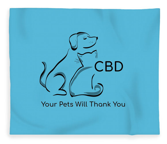 CBD, Your Pets Will Thank You - Blanket
