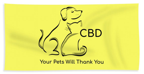 CBD, Your Pets Will Thank You - Beach Towel