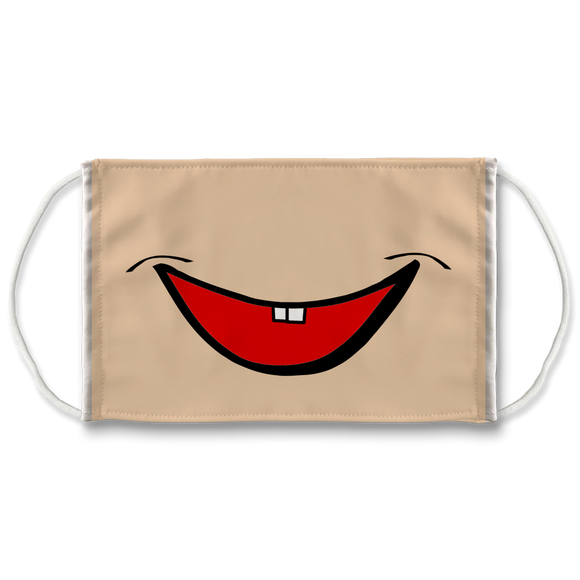 Cartoon Smile Face Mask