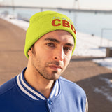 Ask Me About CBD - Knit Beanie