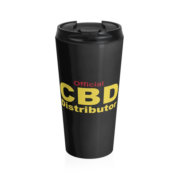 Official CBD Distributor - Stainless Steel Travel Mug