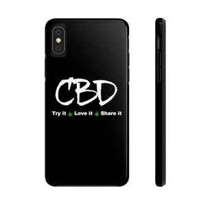 CBD, Try It, Love It, Share It - Case Mate Tough Phone Cases