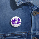 CBD, Honor Your Body  Pin Buttons