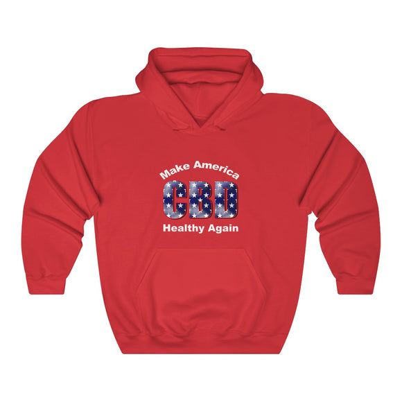 CBD Make America Great Again Unisex Heavy Blend™ Hooded Sweatshirt (plus size up to 5x)