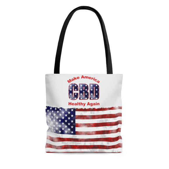 CBD Make America Healthy Again -  2 Sided Tote Bag