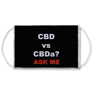 CBD vs CBDa? Ask Me Face Mask