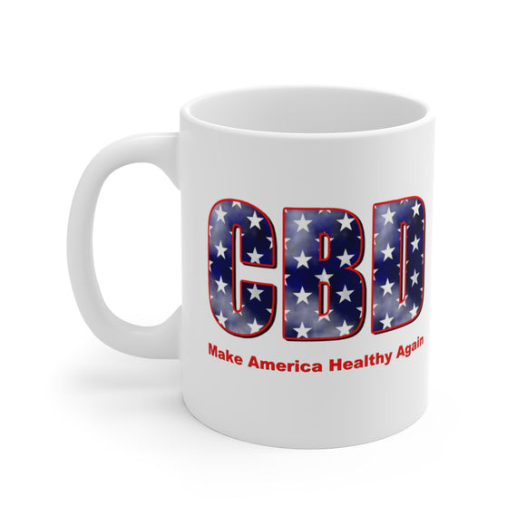 CBD Make America Healthy Again Ceramic Mug