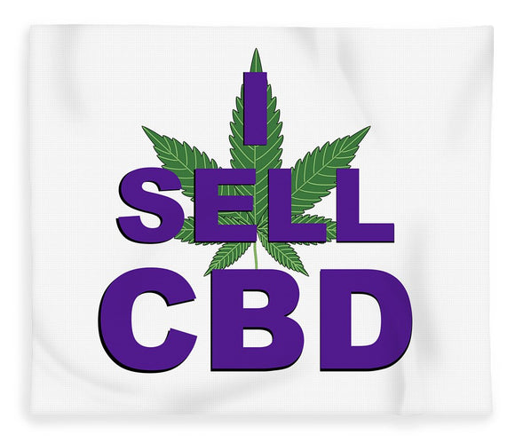 I Sell CBD II - Blanket