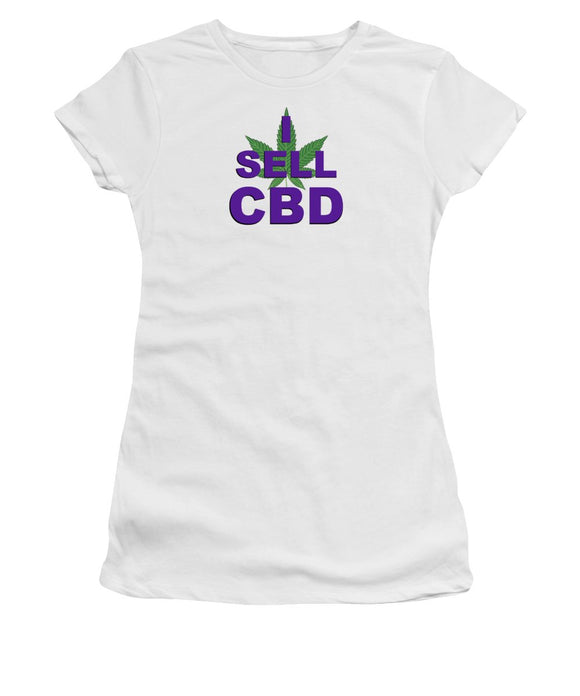 I Sell CBD II - Women's T-Shirt