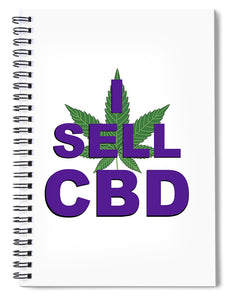 I Sell CBD II - Spiral Notebook
