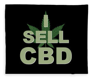I Sell CBD - Blanket