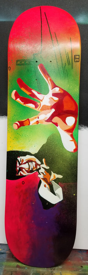 Bruce Lee Skateboard Deck