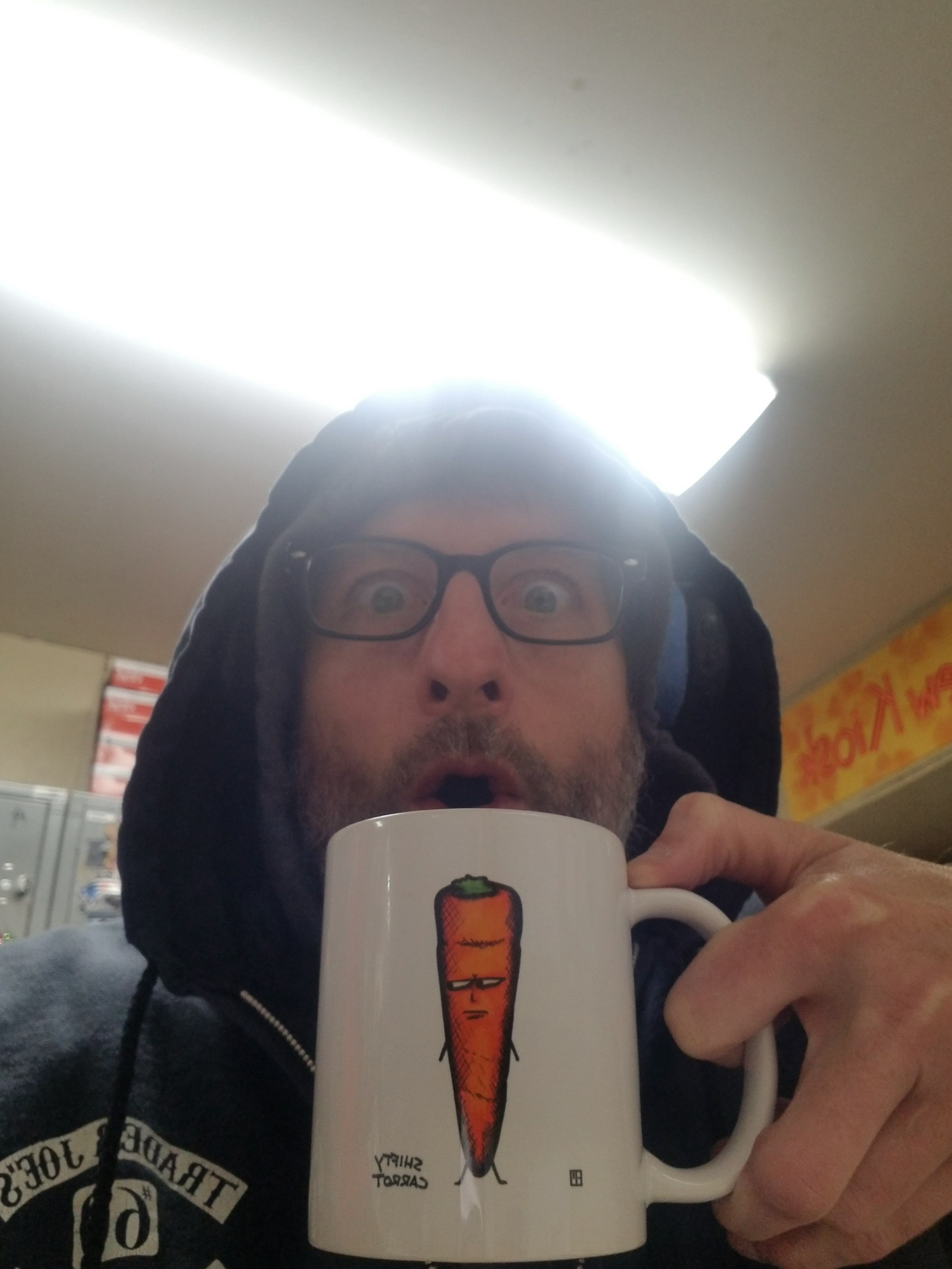 Shifty Carrot Mug