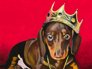 Notorious Dach Canvas Print