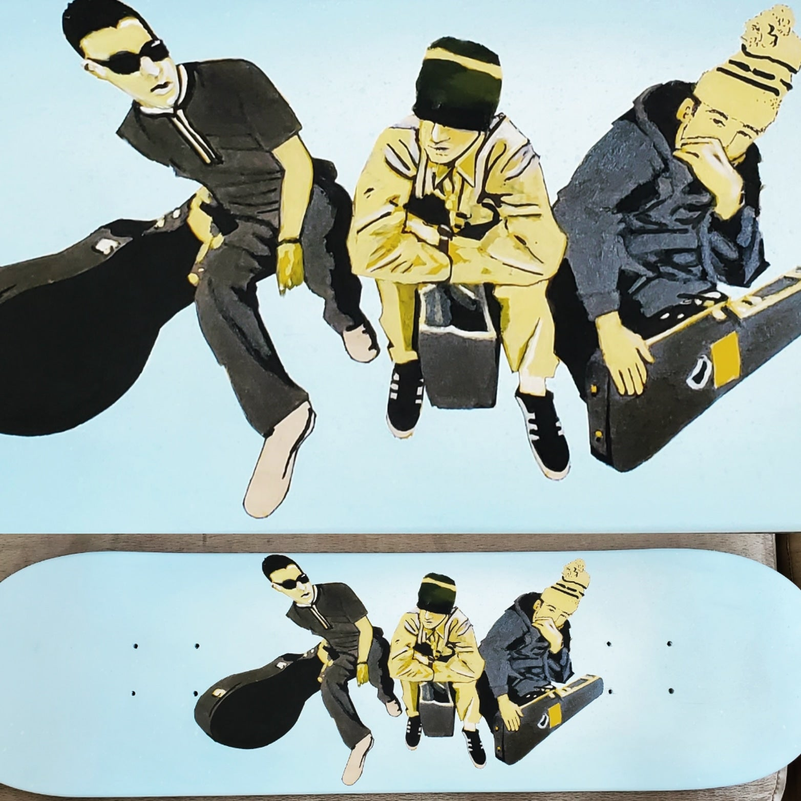 Beastie Boys Skateboard Deck