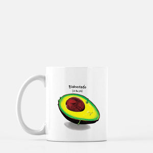 Blahvocado (It's the pits) Mug