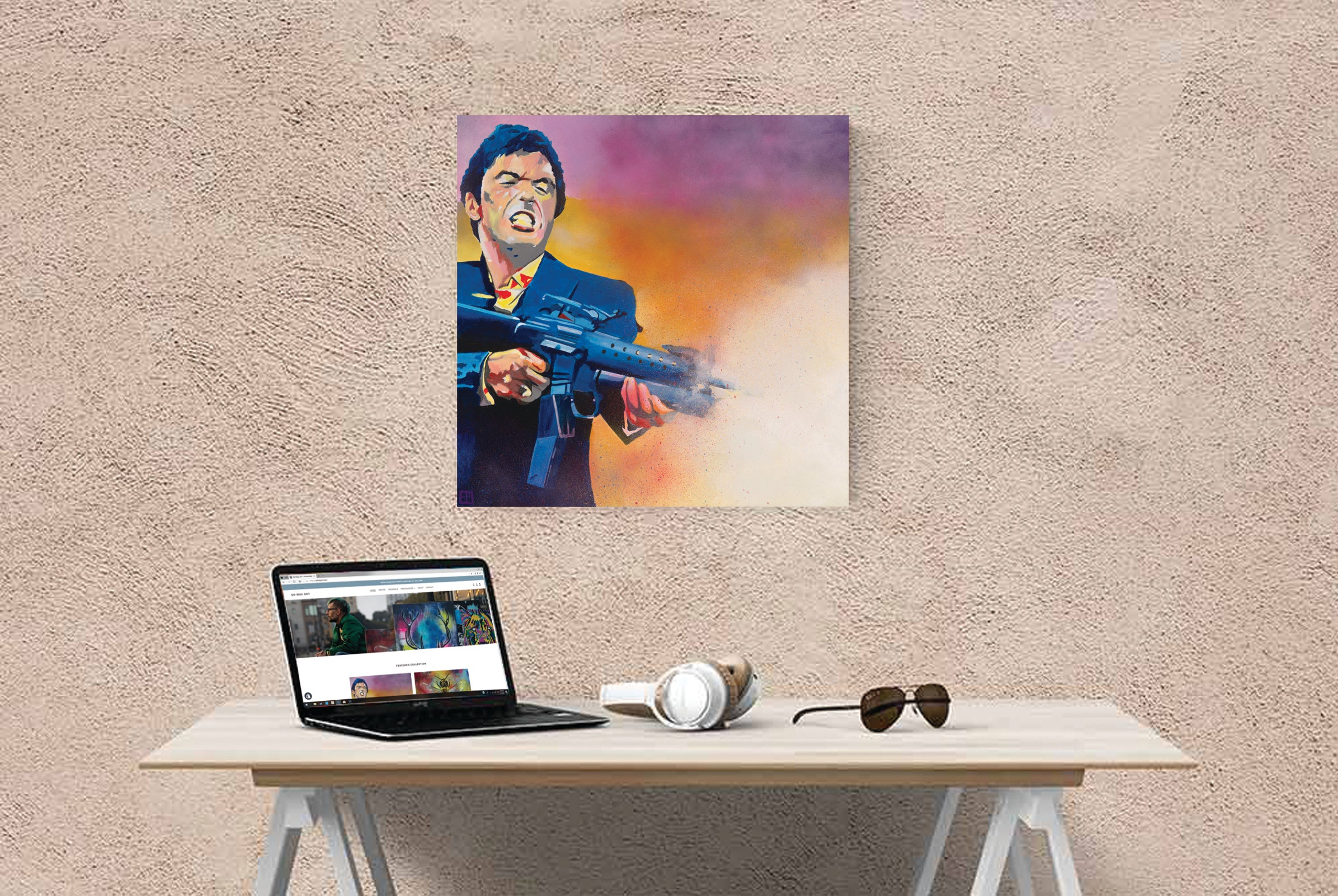 Scarface Canvas Print