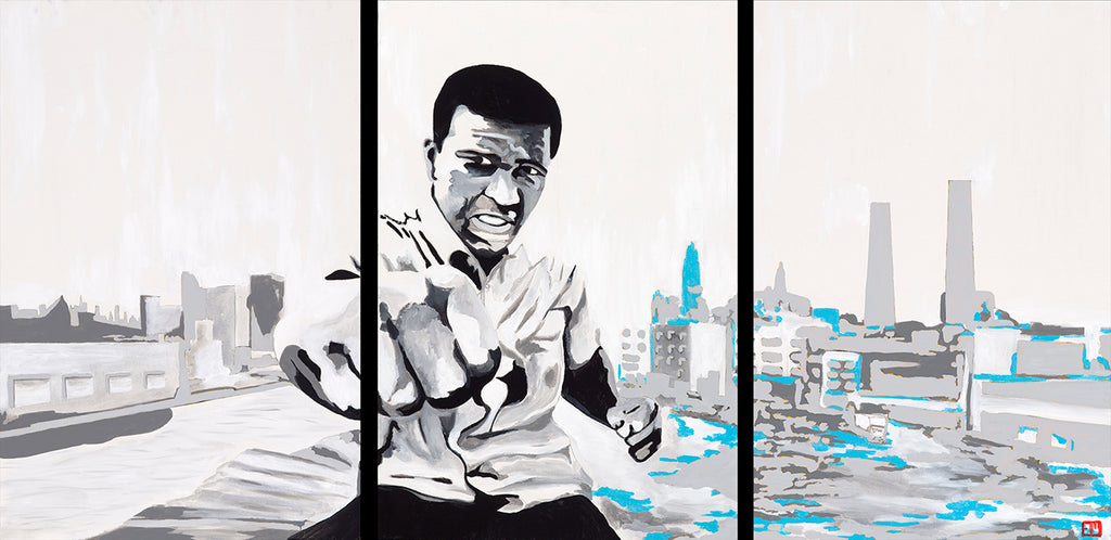 The Greatest - Muhammad Ali 74x36 Original