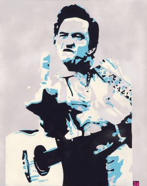 Johnny Cash 24x36 Original