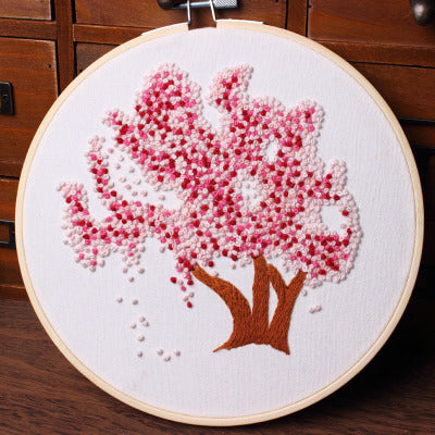 Cherry Blossom Embroidery Kit
