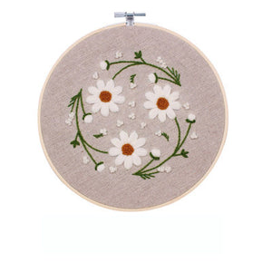 Wild Chamomile Embroidery Kit
