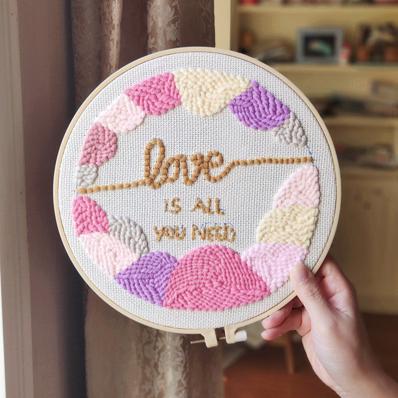 Love is All You Need Punch Needle Kit
