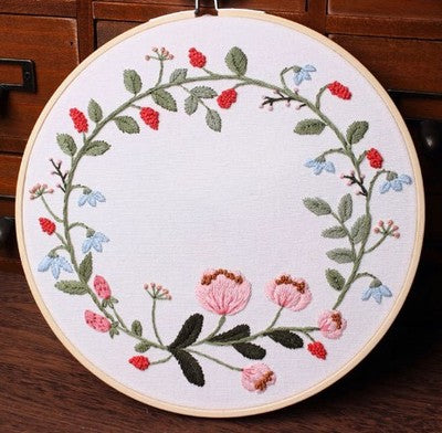 Raspberry Embroidery Kit