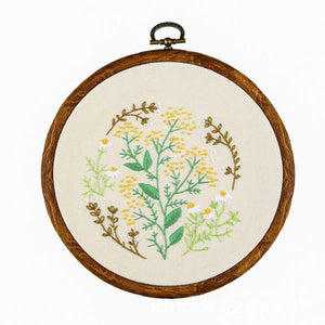 Wild Chrysanthemum Embroidery Kit